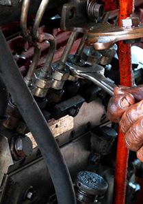 Reparasjon av drivstoffsystemer
